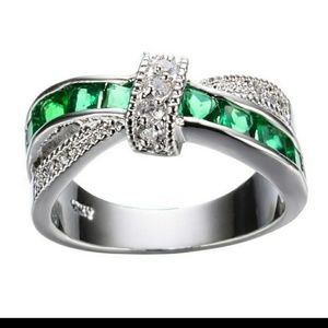 Silver Women's Wedding Ring Fashion jewelry